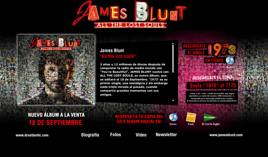 James Blunt Publibureau