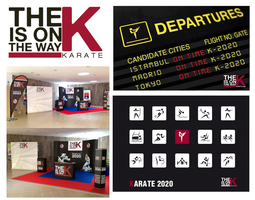The K is on the way WKF Publibureau